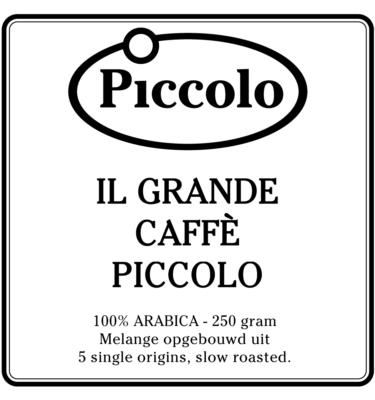 il grande caffe piccolo - ARABICA- 5 single origins